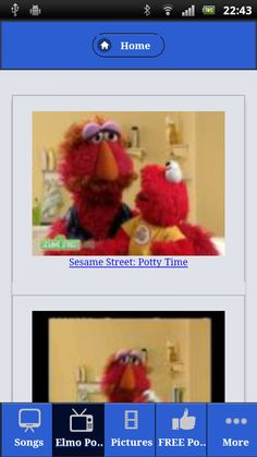 Elmo Potty Time With
