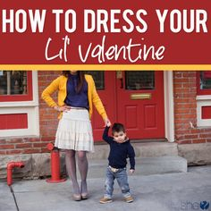 How to dress your lil Valentine  #howdoesshe #homemadebabyfood #babyfood #diybabyfood #homemadeapplesauce howdoesshe.com