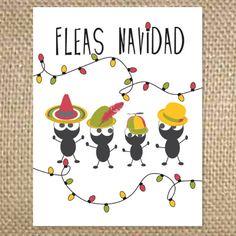 Outside - Fleas Navidad  Inside - blank
