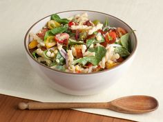Corn and Pasta Salad with Homemade Ranch Dressing Recipe : Food Network Kitchen : Food Network - FoodNetwork.com