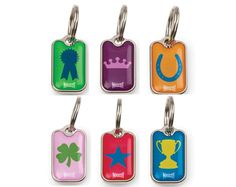 ID tags from Mascot