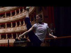 Svetlana Zakharova - Stretching & Warm-up in Italy