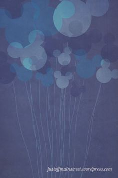 #Disney #Ballons #Mickey
