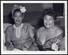 Billie Holiday and Ella Fitzgerald