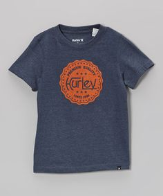 Love this Heather Legacy Navy Inside Job Tee - Toddler & Boys on #zulily! #zulilyfinds