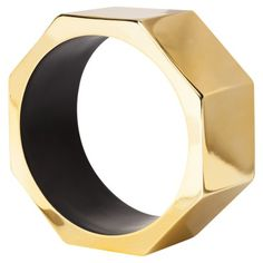 {Accents} Nate Berkus Decorative Oversized Nut Figural - Gold