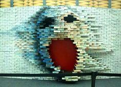 "Unkonwn Artist ""Pink Floyd street art """
