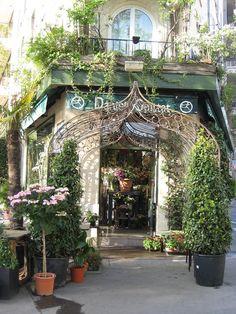 Storefront- This florist shop is beautiful ~Paris