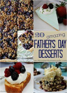 Father's Day Desserts | Recipes on HoosierHomemade.com