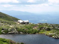 Lake of the Clouds Hut. A great place to stay the night after hiking up Mt Washington in New Hampshire.
