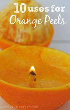 10 Uses for Orange Peels