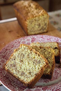 Chec Cu Nucă  (Romanian Walnut Panettone) ~ This traditional Romanian sweet bread studded with rum-laced candied walnuts, makes a delicious dessert, breakfast bread, or teatime snack.