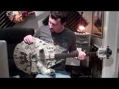 Millennium Falcon guitar. Nice.