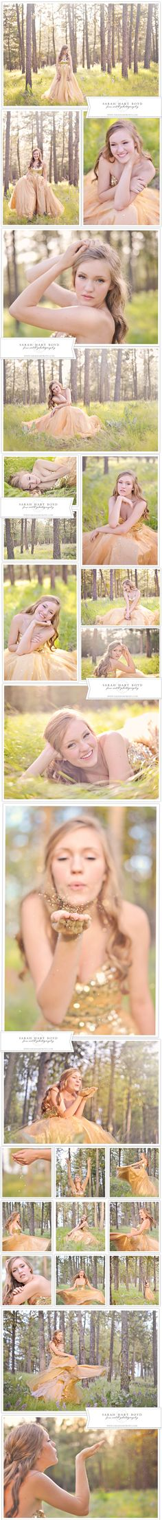 Whimsical Dress Session | Chelan, WA Senior Photographer » sarahhartboyd.com