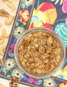 Pretty. Delicious. [Granola]: Maple Vanilla Granola