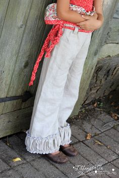 Clarissa's Belted Pants Pattern