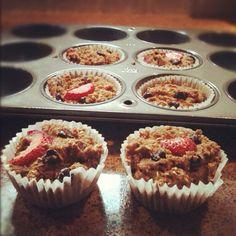 Strawberry Banana Chocolate Chip Muffins! @Arielle Gordon Gordon Gordon Cutler
