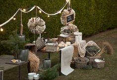 Decoración para bodas. Bodas vintage