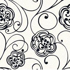 Geo Flower Scroll GC0744