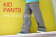 The basic pant