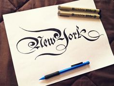 NY Script by Steve Wolf