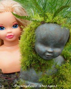 baby doll planter