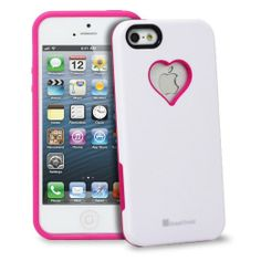 HEART APPLE IPHONE CASE: GreatShield RADIANT Series Heart Shape Valentines Day Case for Apple iPhone 5