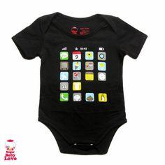 Baby iPhone Onesie