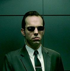 """Agent Smith from """"The Matrix"""""""