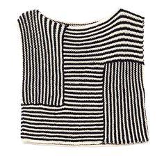 Wool and the Gang sweater, sidelin top, pattern, gang kit, crochet, knit, wool, stripe, kit sidelin
