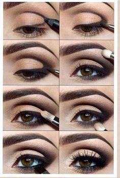 brown eye makeup #browneyemakeup Learn How to Apply Brown Eye Makeup Professionally. http://beauty-tutorials.nqire.com/eyemakeup