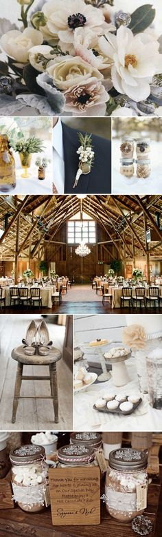 #White #Country #Western #Rustic #Wedding #Ideas … Wedding ideas for brides, grooms, parents & planners https://itunes.apple.com/us/app/the-gold-wedding-planner/id498112599?ls=1=8 … plus how to organise an entire wedding, within ANY budget ♥ The Gold Wedding Planner iPhone #App ♥ http://pinterest.com/groomsandbrides/boards/  for more #wedding inspiration #country #wedding #brown #chocolate #wood #white