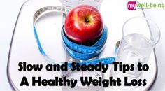 Stick to your weight loss goals with these tips: www.mywell-being.com/health/move/25-slow-steady-tips-healthy-weight-loss
