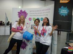 Dec 8 Volunteers create a blast at the Big Bang Fair 2013! #science #volunteering #charity