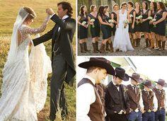 Wedding Ideas: The Western Wedding