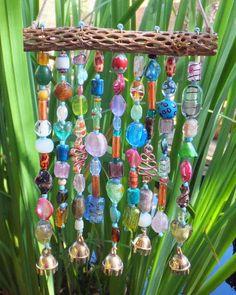 wind chime, bead, tree