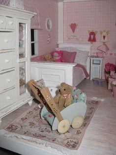 miniature child's room