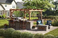 Build and outdoor area fit for your needs.