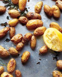 Roasted Potatoes with Oregano and Lemon