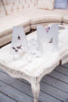 Initial wedding decor: http://www.stylemepretty.com/california-weddings/malibu/2014/04/01/malibu-wedding-with-romantic-purple-details/ | Photography: Sun & Sparrow - http://sunandsparrow.com/