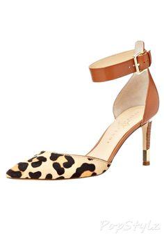 Ivanka Trump Fabianly Leather Dress Pump