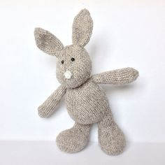 Pip the Bunny toy knitting patterns by TheBerryWoods on Etsy, £3.00