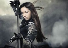 ".Pan Shuang Shuang as ""Night Noblewoman"""