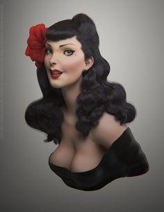 Betty Von Notty By Lucas Falcao