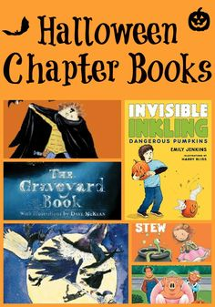 10+  Halloween chapter books at varying reading levels