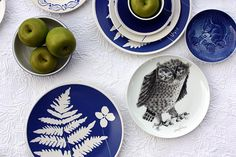 Blue and white Nature Ceramics
