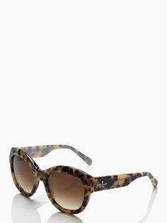 Kate Spade Arianna tortoise cat eye sunglasses