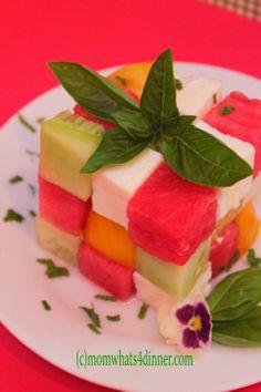 rubiks cube salad