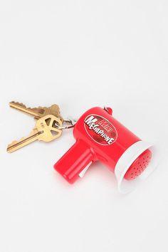 Megaphone Keychain #urbanoutfitters