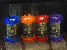 Teenage Mutant Ninja Turtles Birthday Party Mini Pinatas Goody Bags